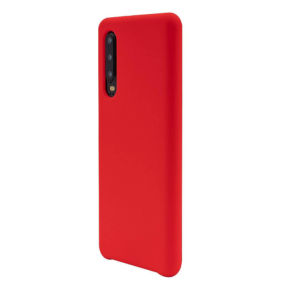 JT Berlin Silicone Case Steglitz — качествен силиконов кейс за Huawei P30 (червен) - 2