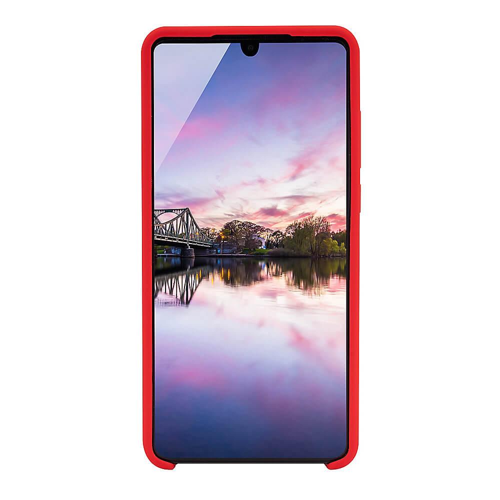 JT Berlin Silicone Case Steglitz — качествен силиконов кейс за Huawei P30 (червен) - 3