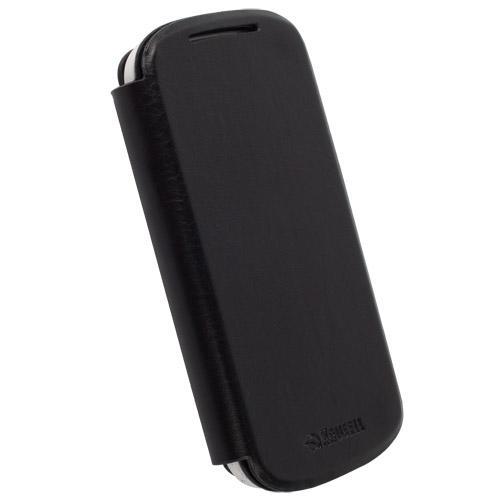 Krusell Donso FlipCover — калъф от естествена кожа за Acer Liquid E1 (черен) - 2