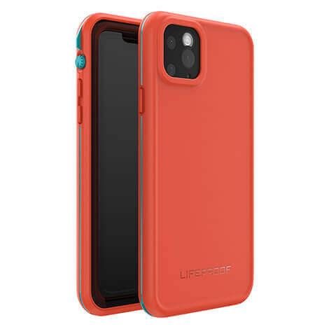 LifeProof Fre — ударо и водоустойчив кейс за iPhone 11 Pro Max (оранжев) - 1