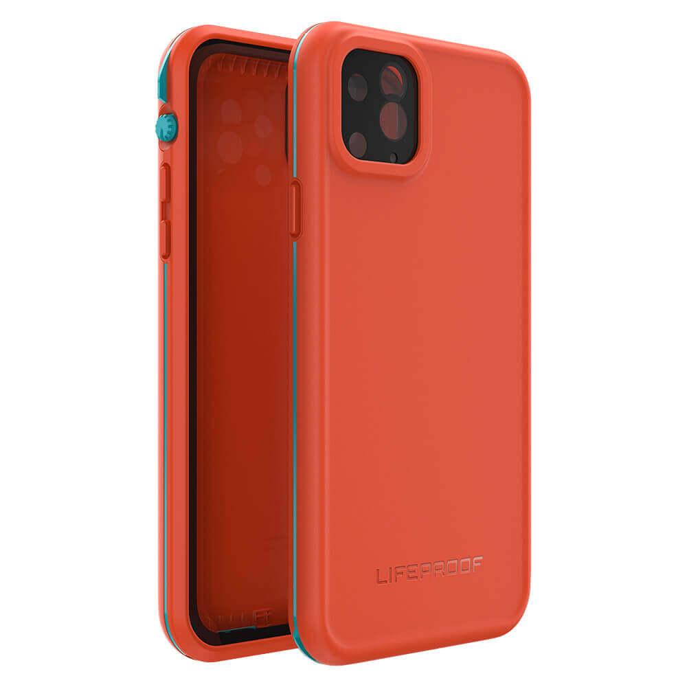 LifeProof Fre — ударо и водоустойчив кейс за iPhone 11 Pro Max (оранжев) - 5