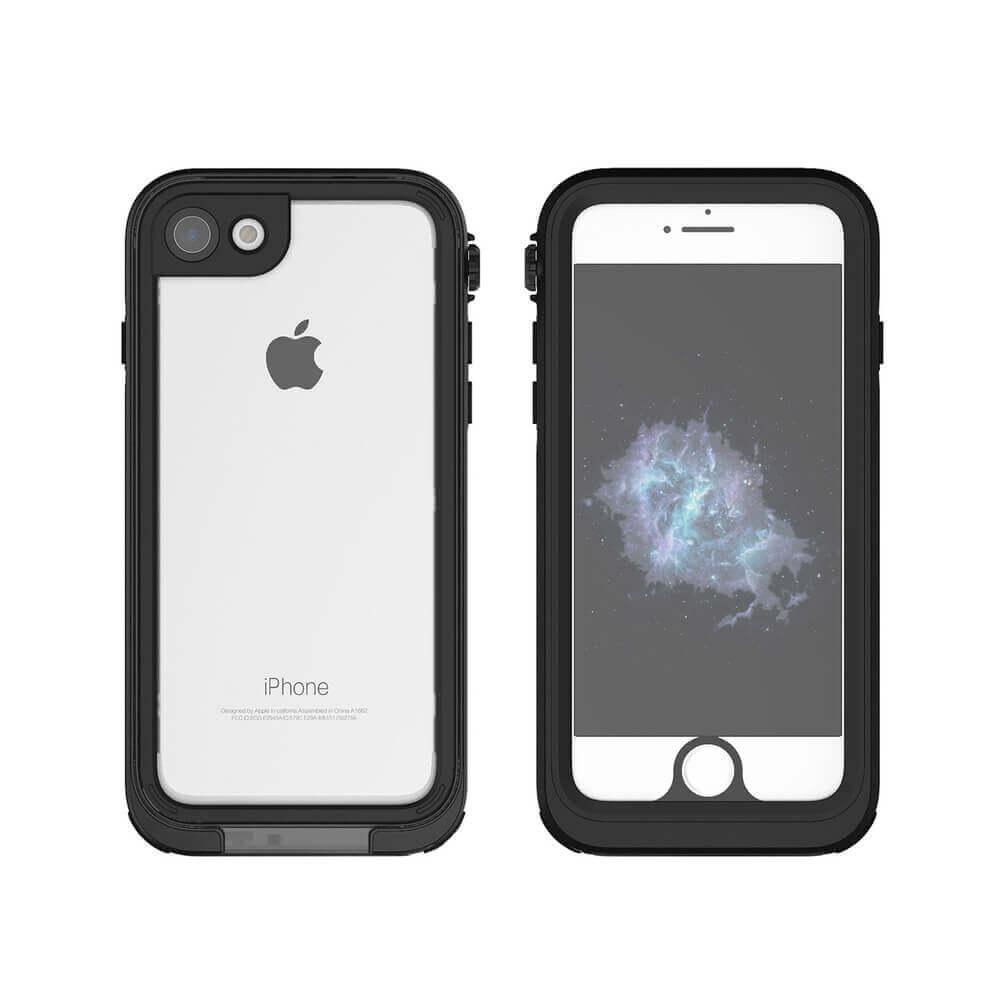 Liquipel AquaGuard Case — ударо и водоустойчив кейс за iPhone 8, iPhone 7 (черен) - 1