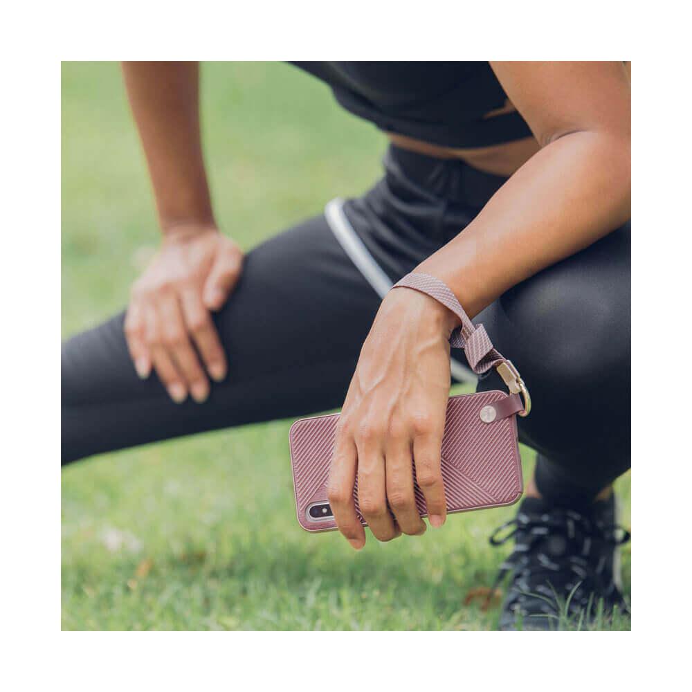 Moshi Altra Case — стилен удароустойчив кейс за iPhone XS Max (розов) - 4