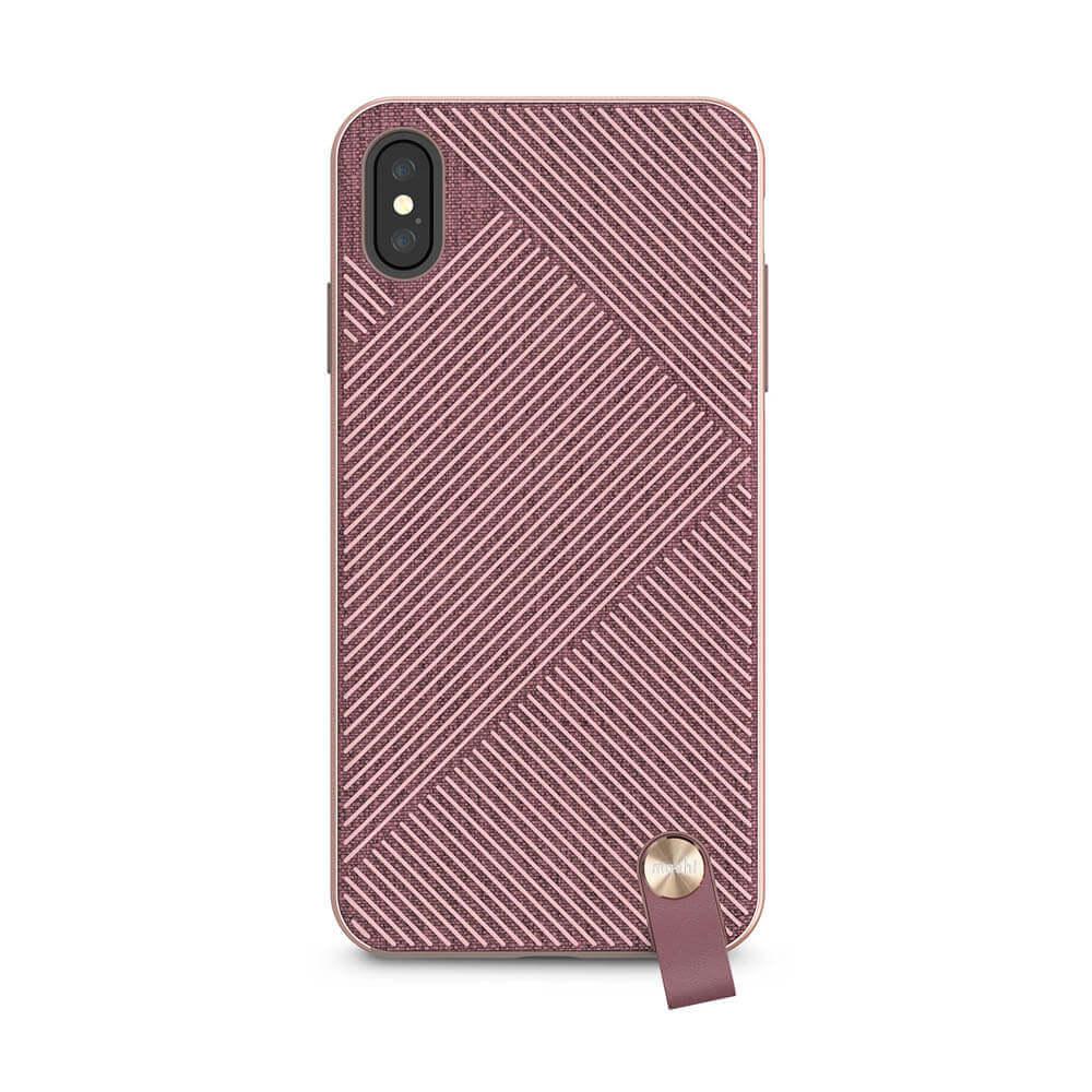 Moshi Altra Case — стилен удароустойчив кейс за iPhone XS Max (розов) - 3