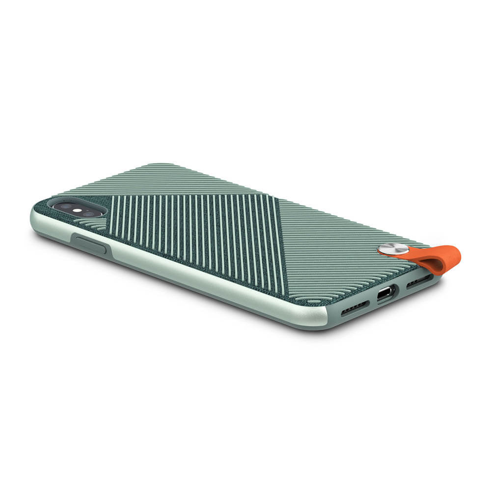 Moshi Altra Case — стилен удароустойчив кейс за iPhone XS Max (зелен) - 5