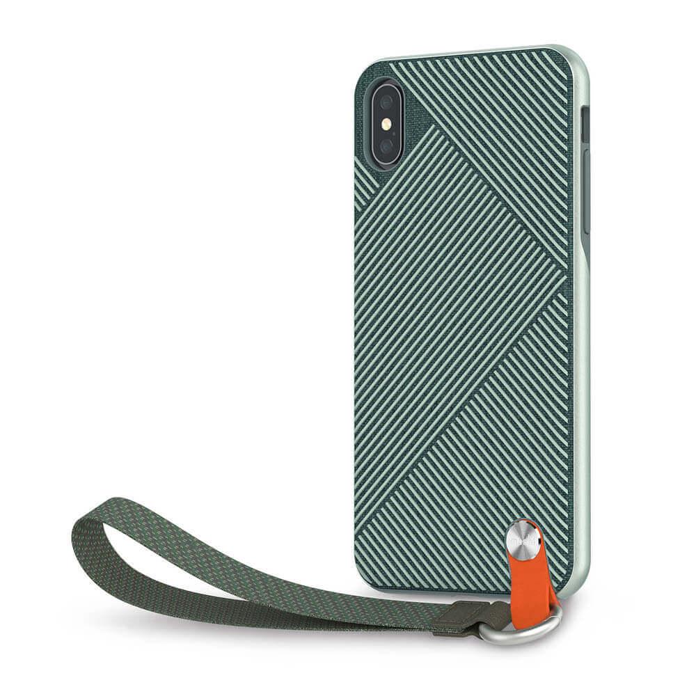Moshi Altra Case — стилен удароустойчив кейс за iPhone XS Max (зелен) - 1