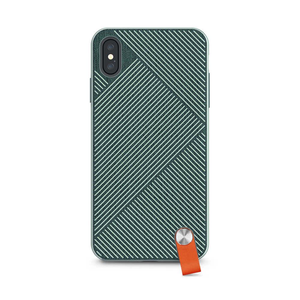 Moshi Altra Case — стилен удароустойчив кейс за iPhone XS Max (зелен) - 2