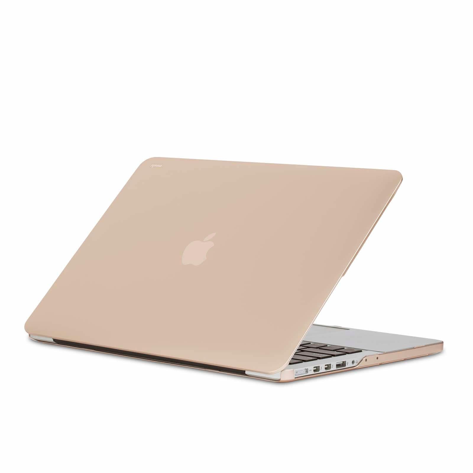 Moshi iGlaze Hard Case — предпазен кейс за MacBook Pro 13 Retina Display (златист) - 1