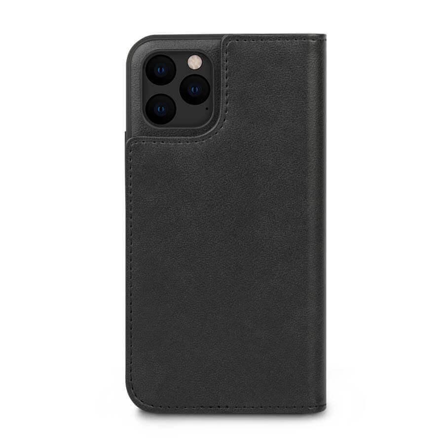Moshi Overture Case — елегантен кожен калъф (с кейс) тип портфейл за iPhone 11 Pro (черен) - 4
