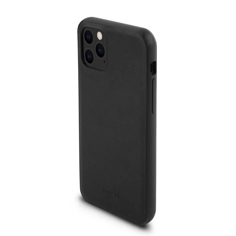 Moshi Overture Case — елегантен кожен калъф (с кейс) тип портфейл за iPhone 11 Pro (черен) - 3