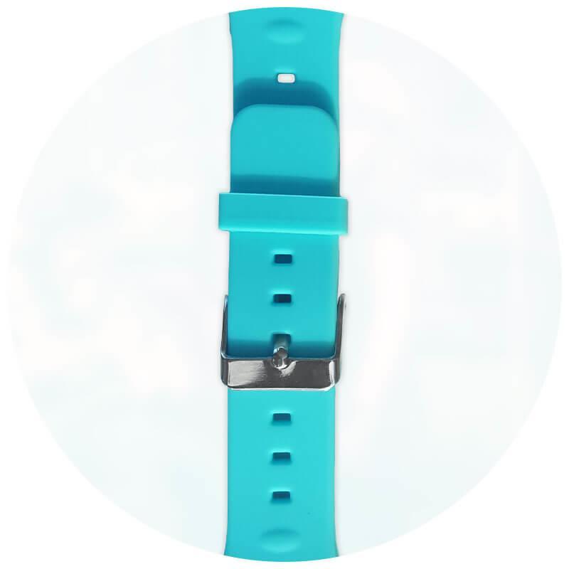 MyKi Replacement Watch band — резервна силиконова каишка за MyKi Watch (син) - 1