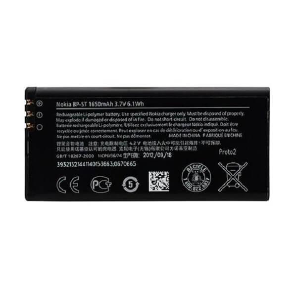 Nokia Battery BP-5T — оригинална резервна батерия за Nokia Lumia 820 (bulk package) - 1