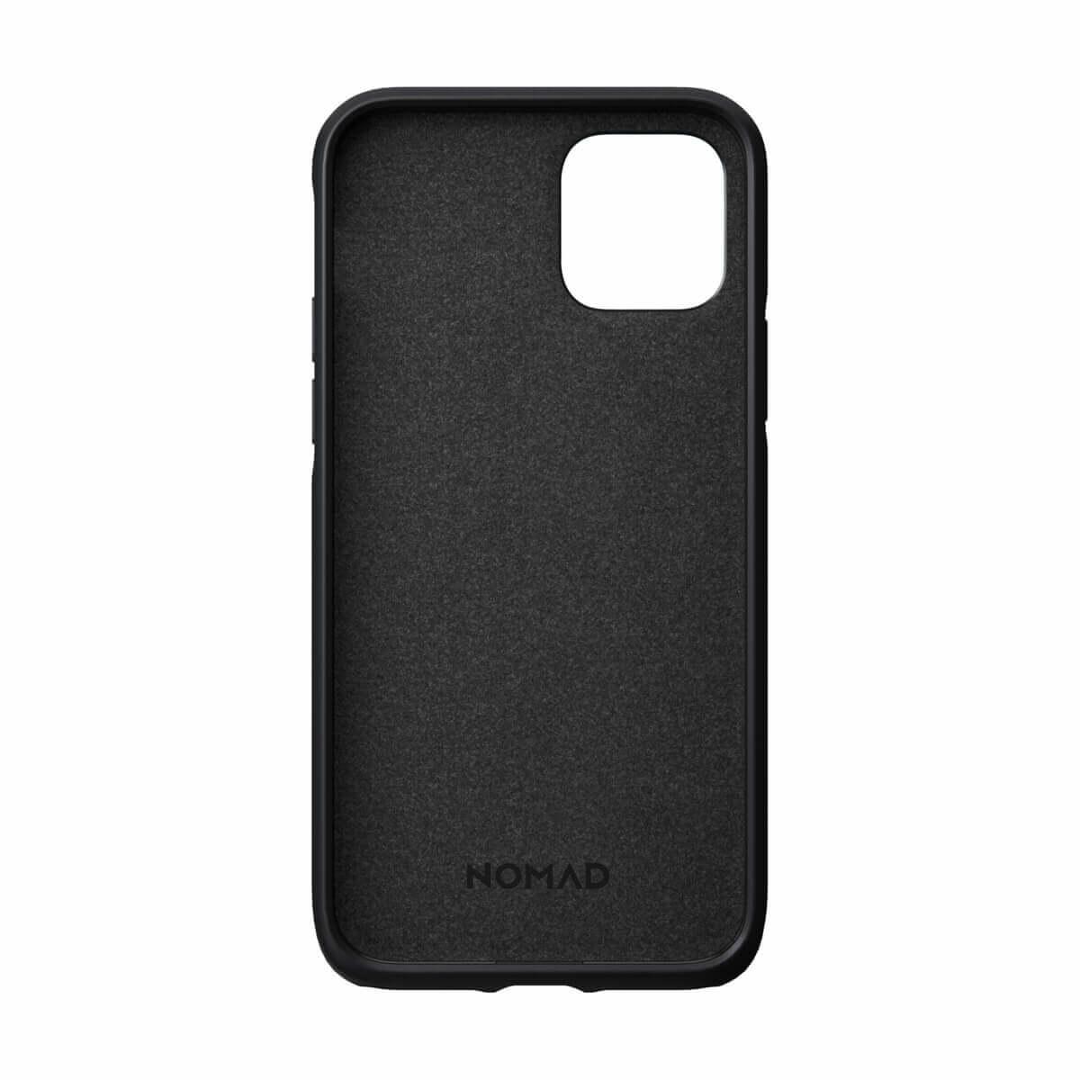 Nomad Leather Rugged Case — кожен (естествена кожа) кейс за iPhone 11 Pro (черен) - 4
