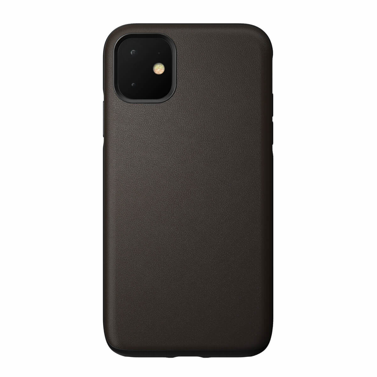 Nomad Leather Rugged Waterproof Case — кожен (естествена кожа) кейс за iPhone 11 (кафяв) - 3