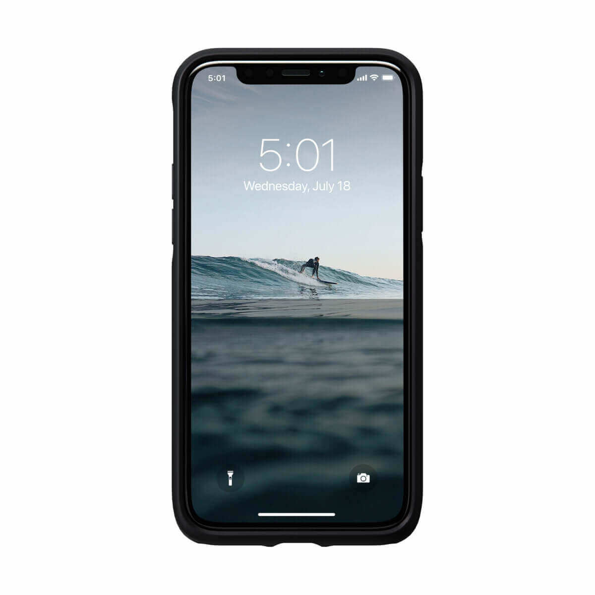 Nomad Leather Rugged Waterproof Case — кожен (естествена кожа) кейс за iPhone 11 Pro (черен) - 2