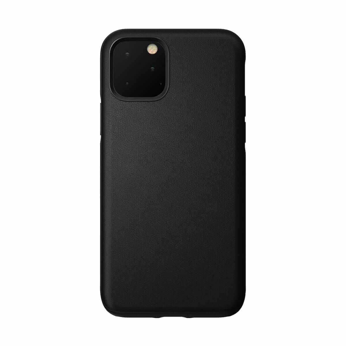 Nomad Leather Rugged Waterproof Case — кожен (естествена кожа) кейс за iPhone 11 Pro (черен) - 1
