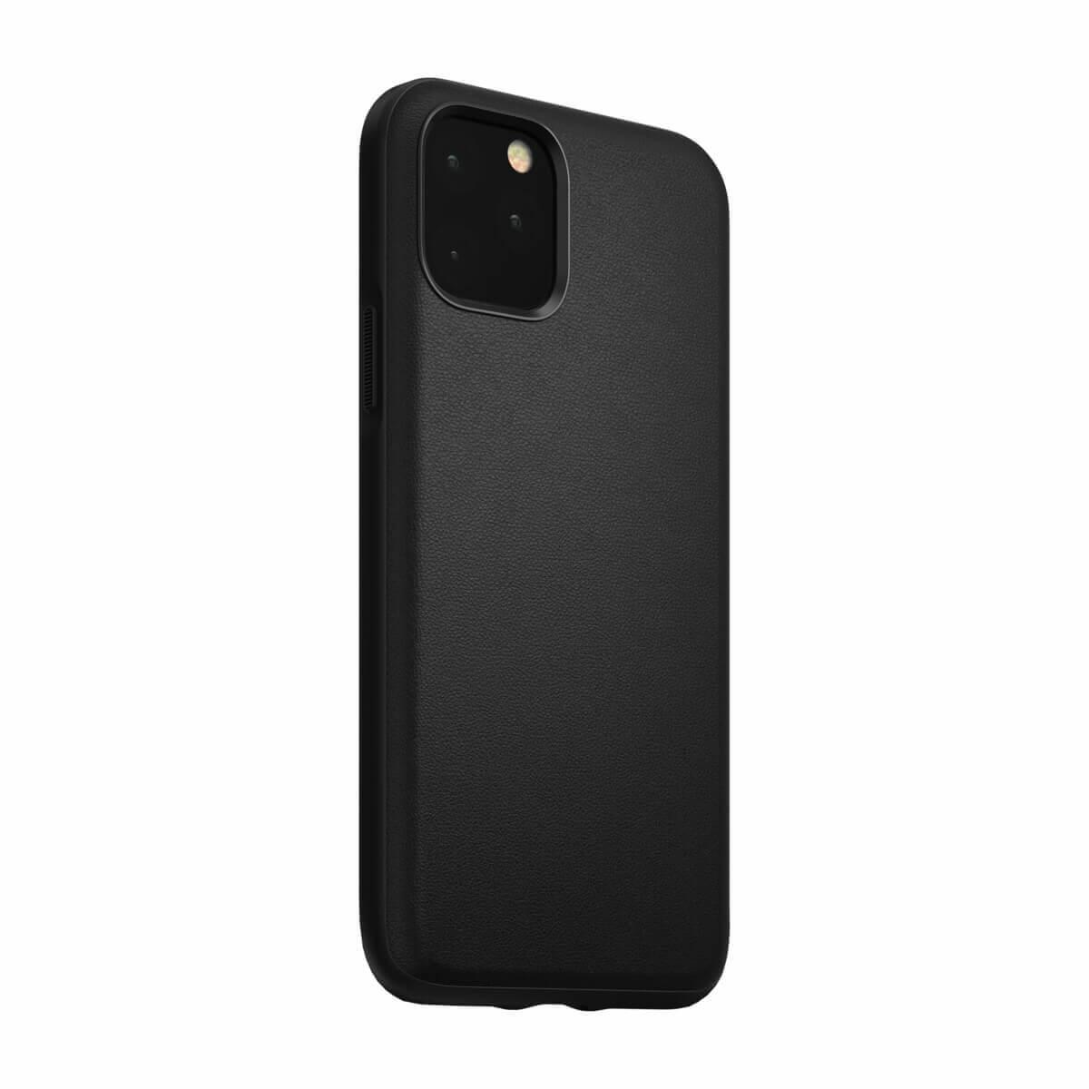 Nomad Leather Rugged Waterproof Case — кожен (естествена кожа) кейс за iPhone 11 Pro (черен) - 4