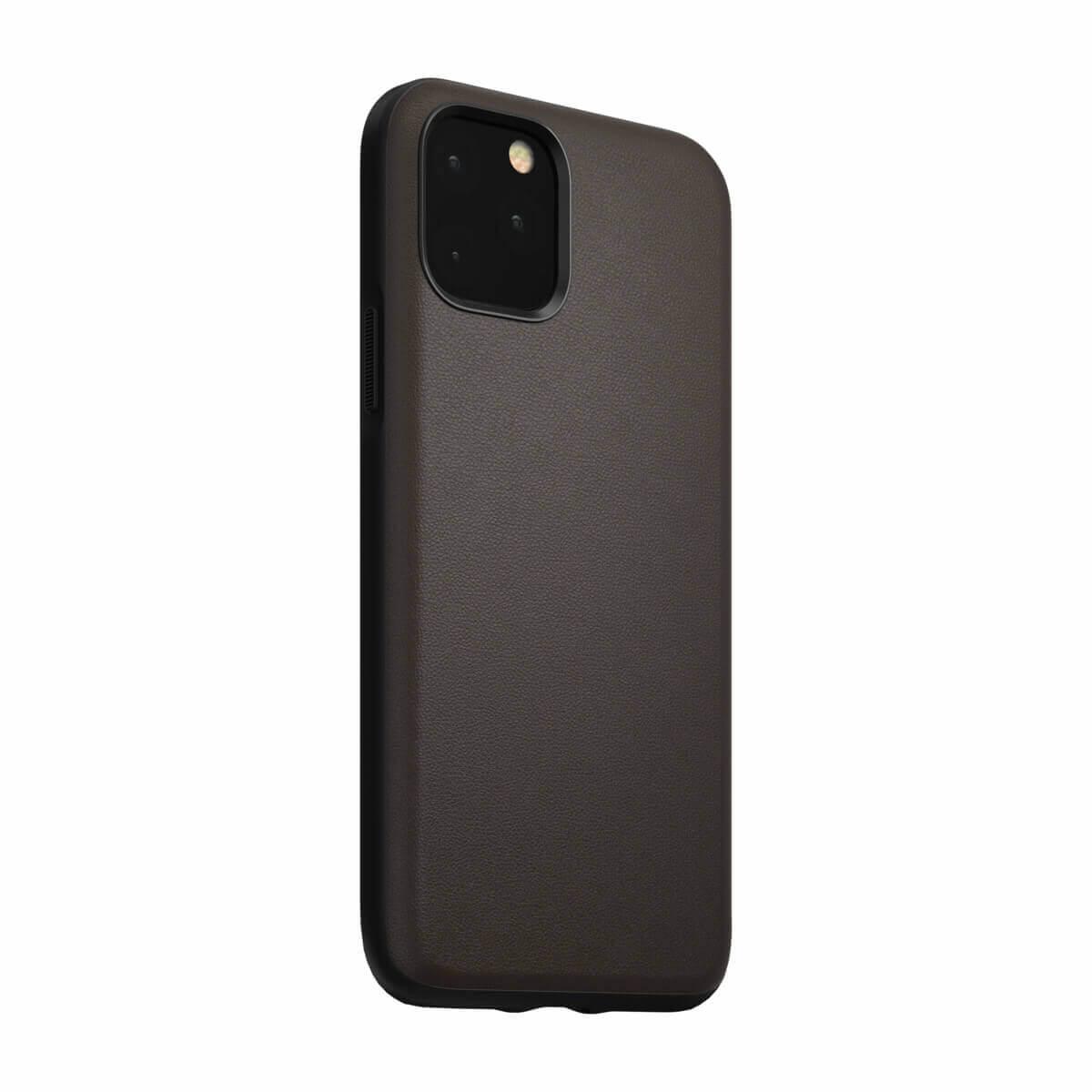 Nomad Leather Rugged Waterproof Case — кожен (естествена кожа) кейс за iPhone 11 Pro Max (кафяв) - 1