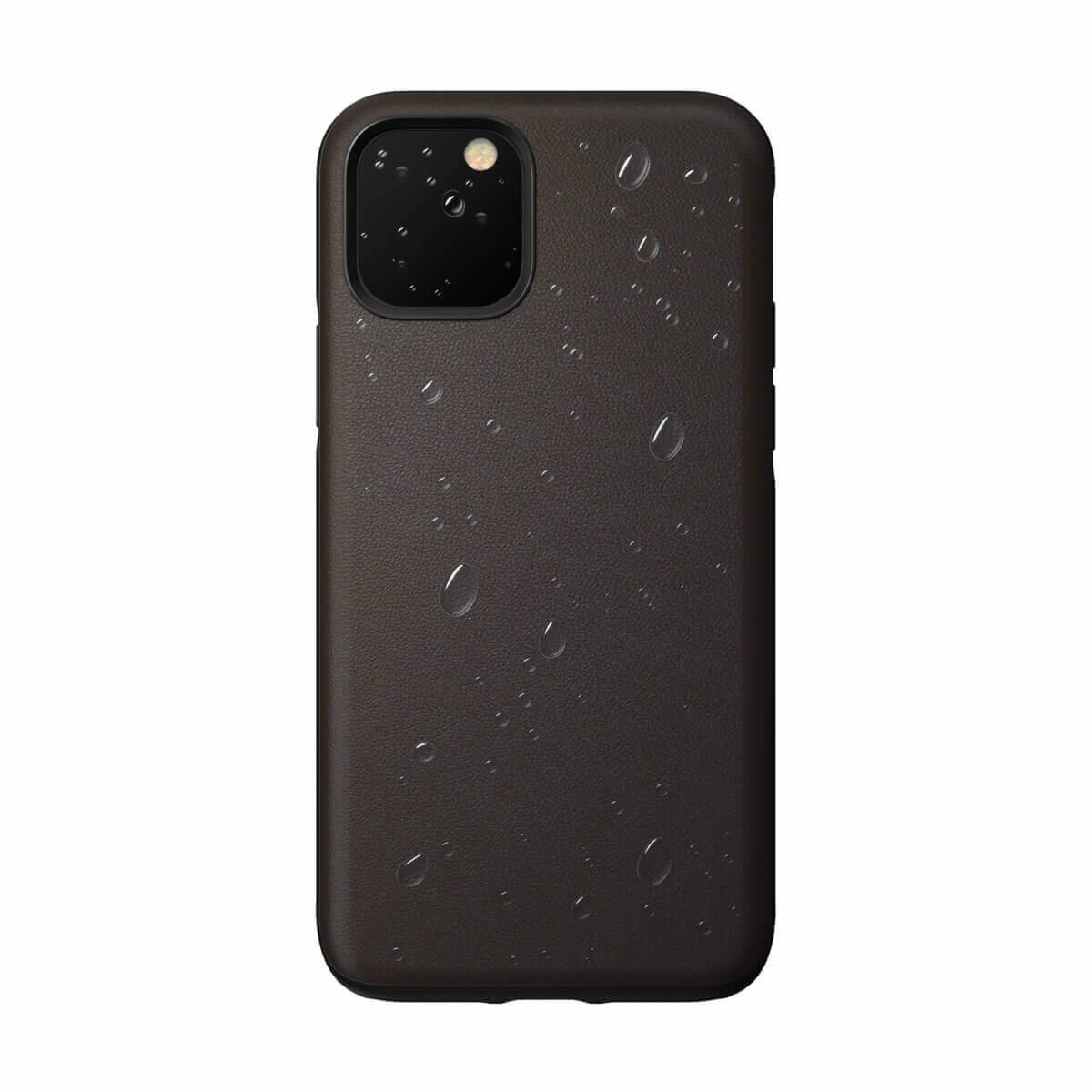 Nomad Leather Rugged Waterproof Case — кожен (естествена кожа) кейс за iPhone 11 Pro Max (кафяв) - 5