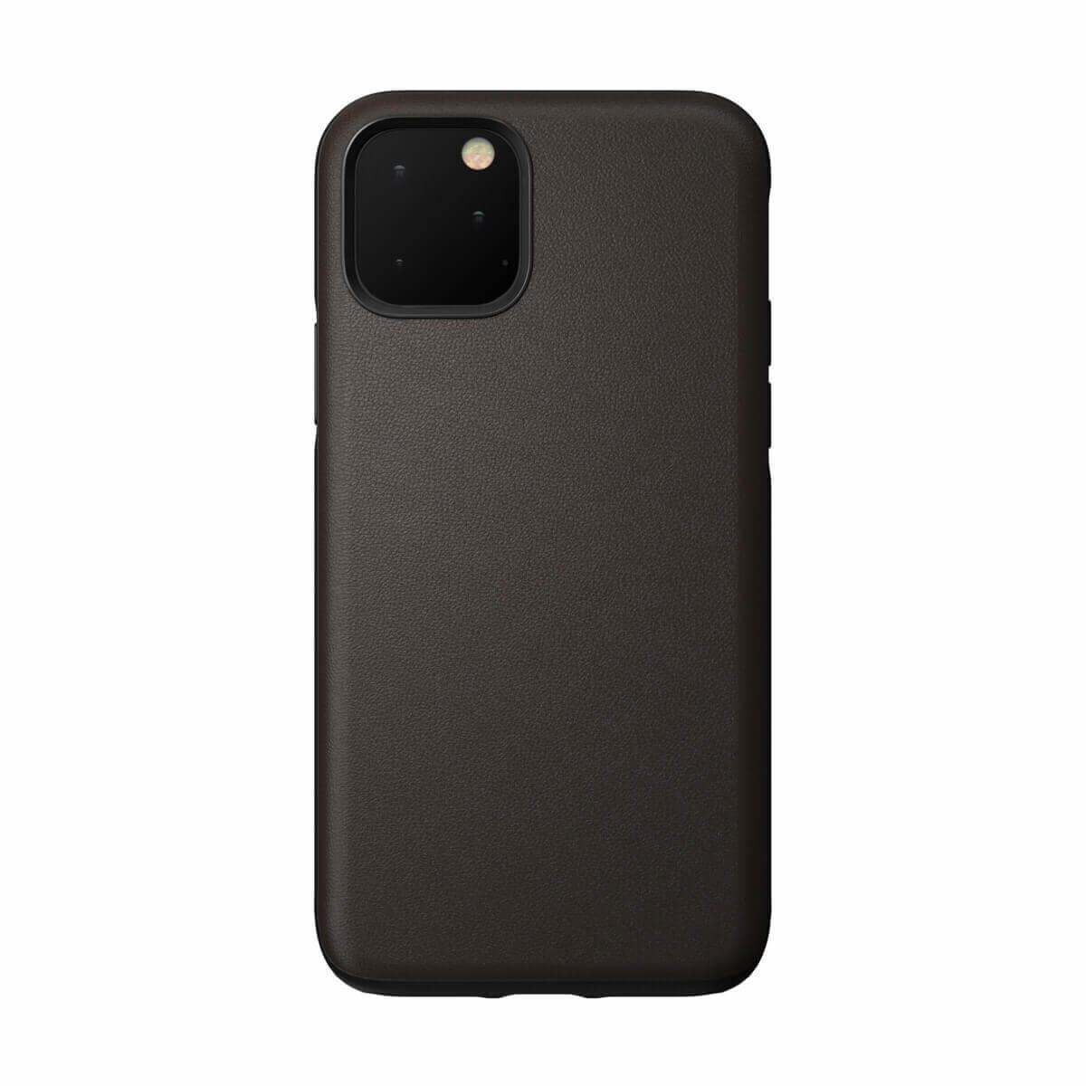 Nomad Leather Rugged Waterproof Case — кожен (естествена кожа) кейс за iPhone 11 Pro Max (кафяв) - 2