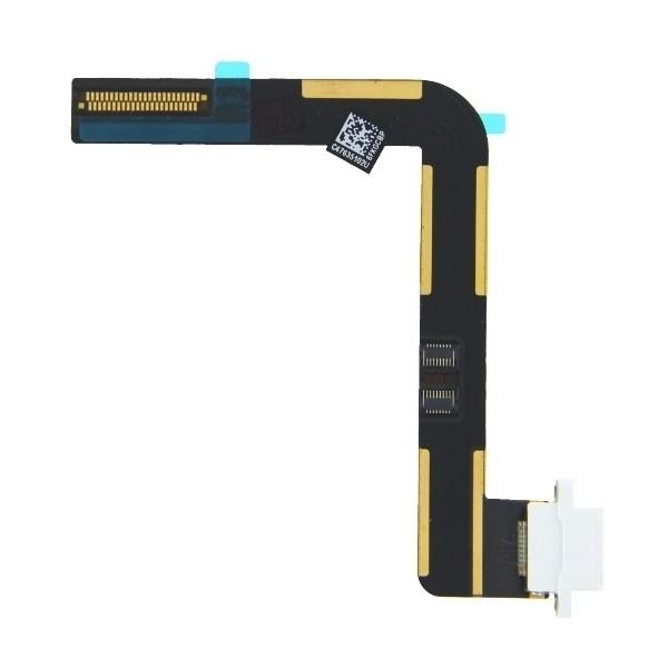 OEM Lightning Charging Connector Flex Cable  — лентов кабел с Lightning конектора за iPad Air (бял) - 1