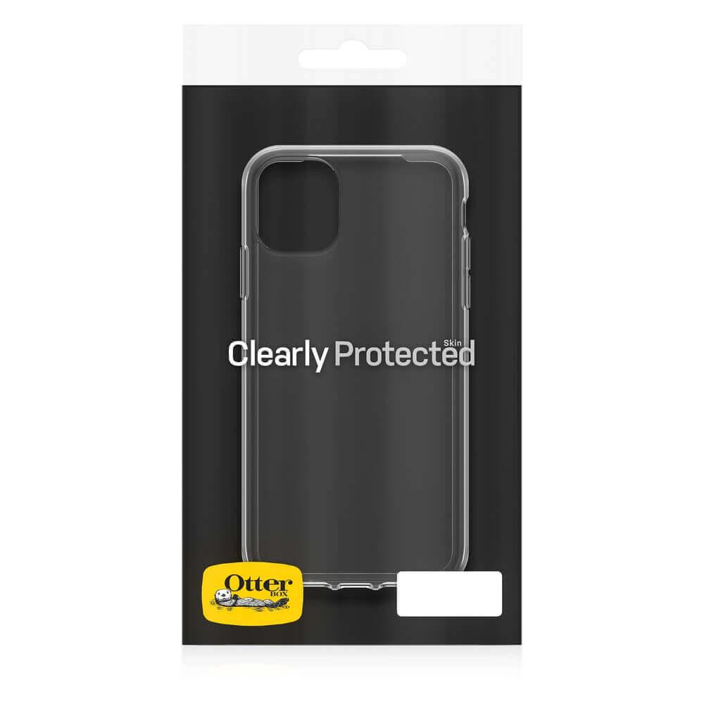 Otterbox Clearly Protected Skin Case — тънък силиконов кейс за iPhone 11 Pro Max (прозрачен) - 5