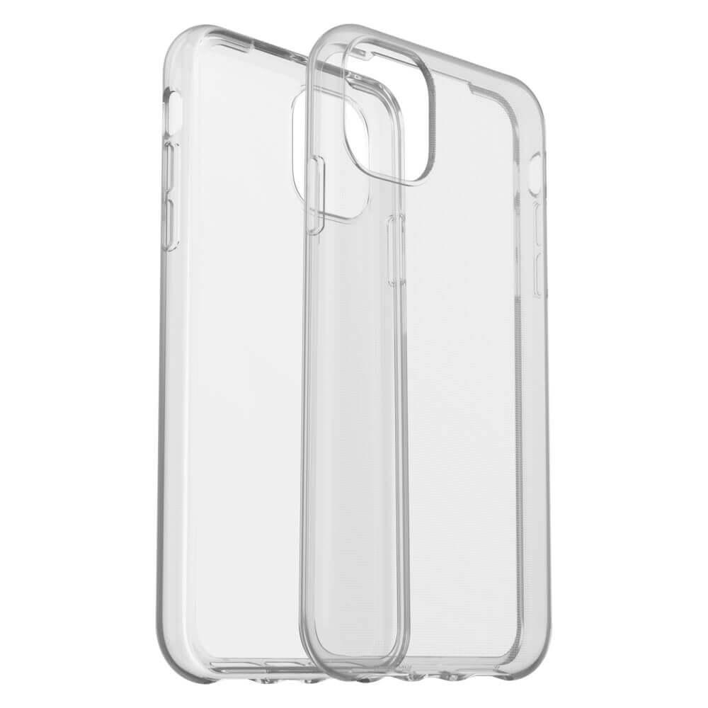 Otterbox Clearly Protected Skin Case — тънък силиконов кейс за iPhone 11 (прозрачен) - 1