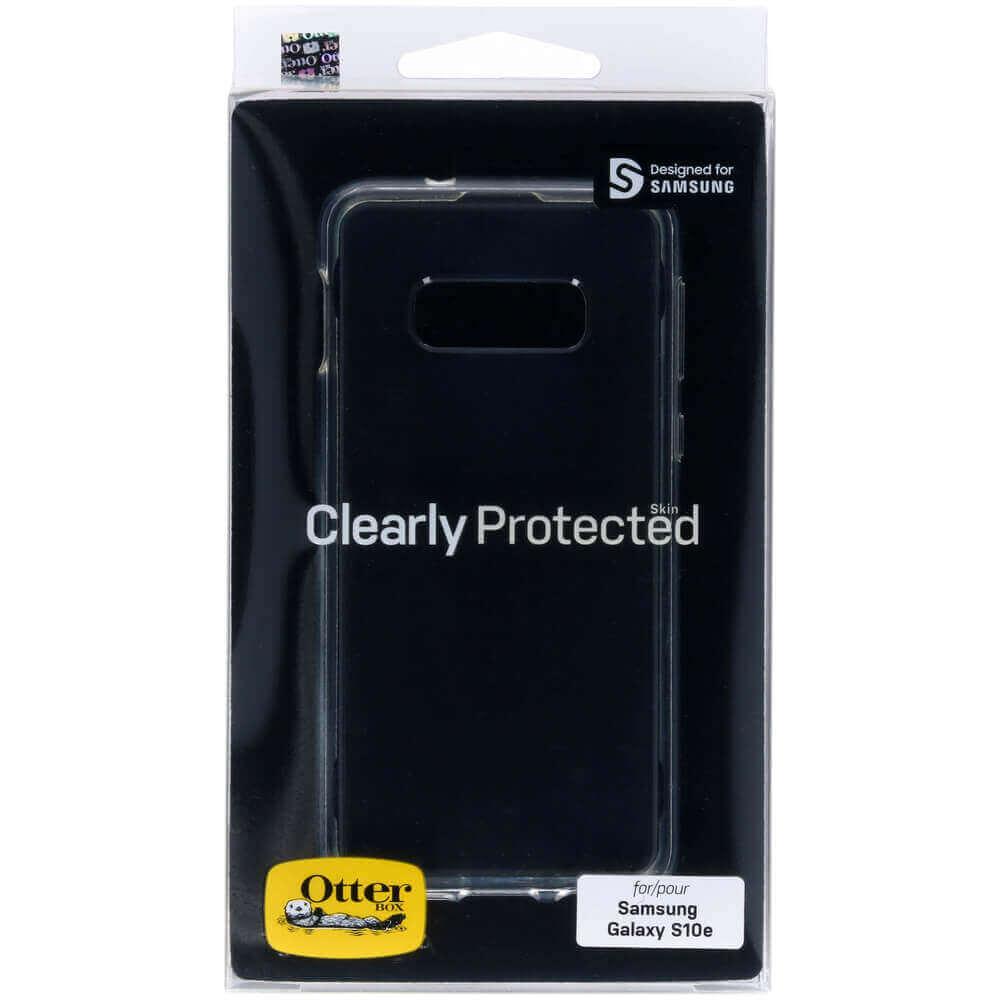 Otterbox Clearly Protected Skin Case — тънък силиконов кейс за Samsung Galaxy S10E (прозрачен) - 5