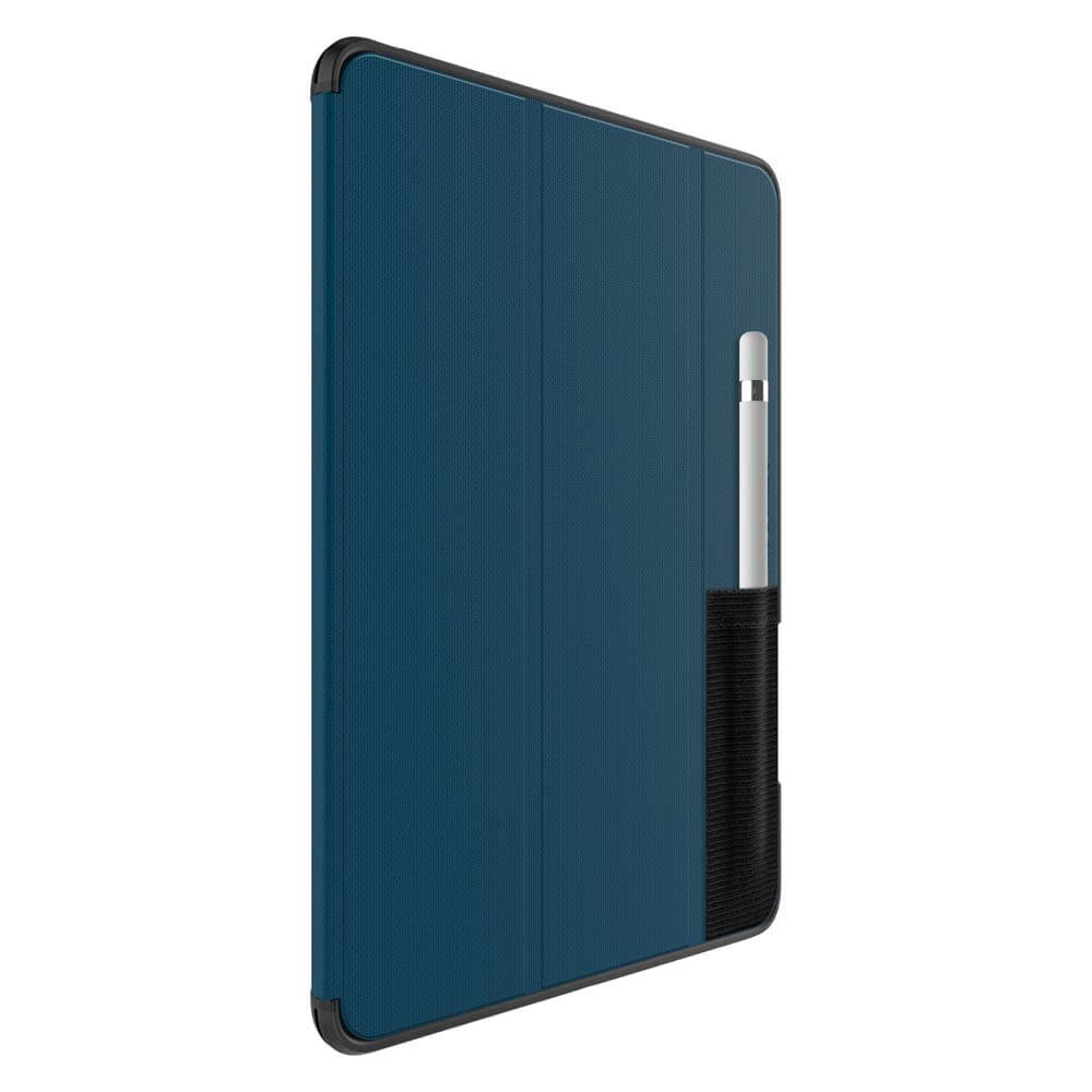 Otterbox Symmetry Folio Case — хибриден удароустойчив кейс, тип папка за iPad 5 (2017), iPad 6 (2018) (син) (bulk) - 2