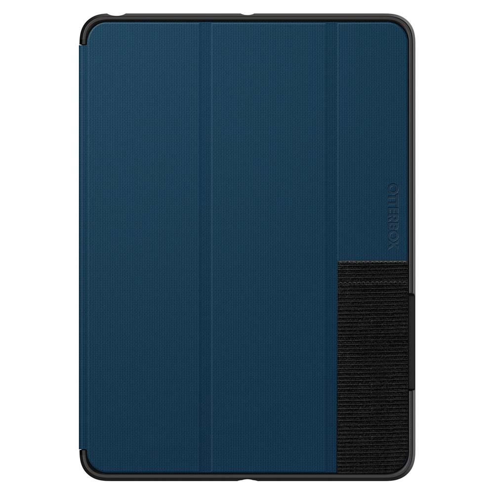 Otterbox Symmetry Folio Case — хибриден удароустойчив кейс, тип папка за iPad 5 (2017), iPad 6 (2018) (син) (bulk) - 3
