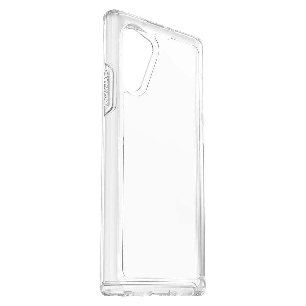 Otterbox Symmetry Series Case — хибриден кейс с висока защита за Samsung Galaxy Note 10 (прозрачен) - 2
