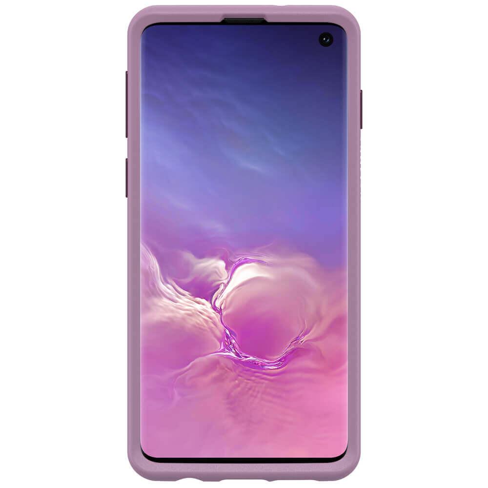 Otterbox Symmetry Series Case — хибриден кейс с висока защита за Samsung Galaxy S10 (лилав) - 2