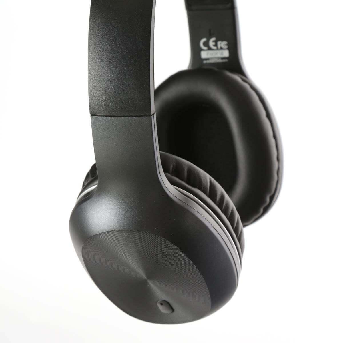 Platinet Freestyle Headset Bluetooth FH0918 — безжични блутут слушалки за мобилни устройства (черен) - 2