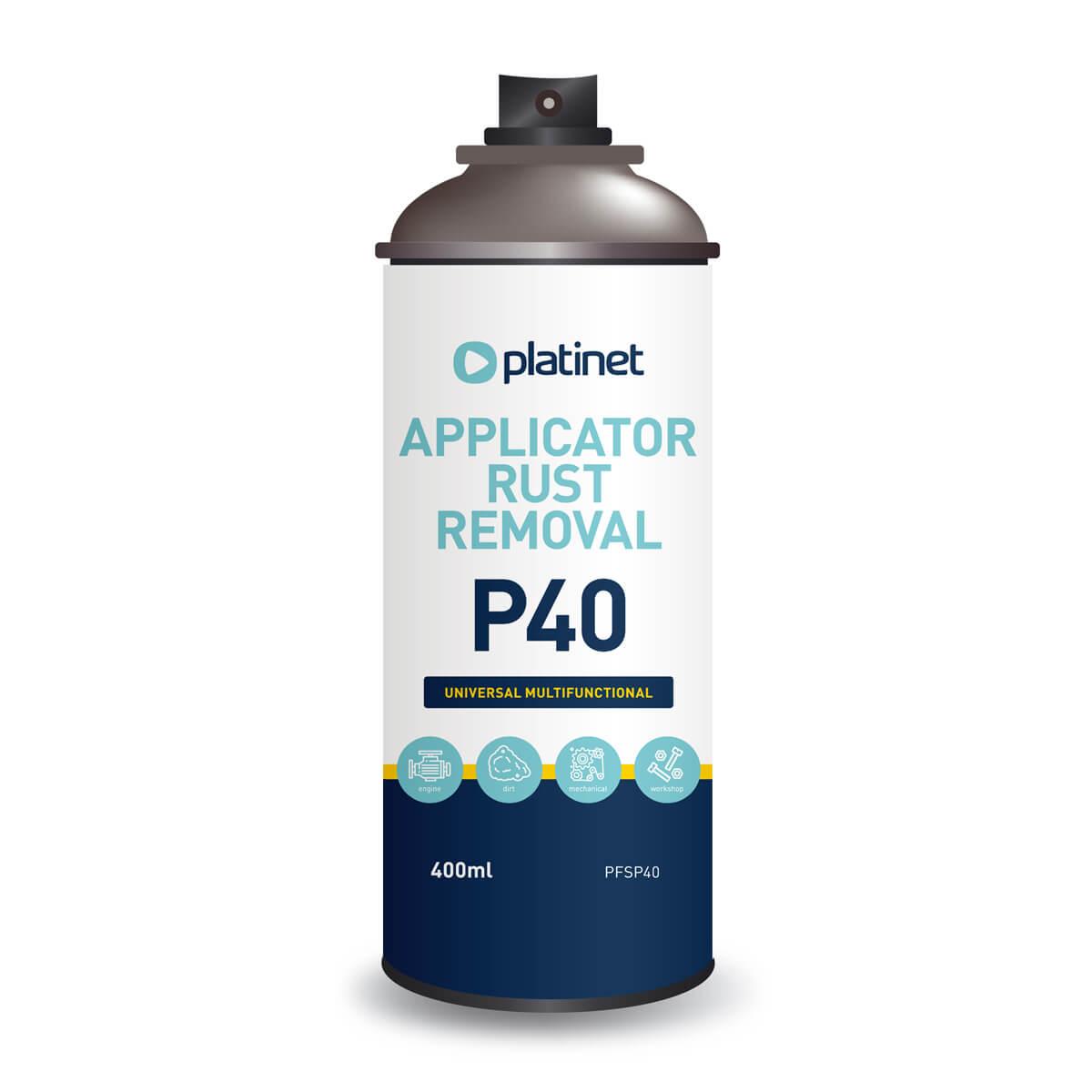 Platinet Multifunction Product P40 Rust Remover, Cleaner, Crrossion Protector — препарат за отстраняване на ръжда, почистване и защита срещу корозия - 1