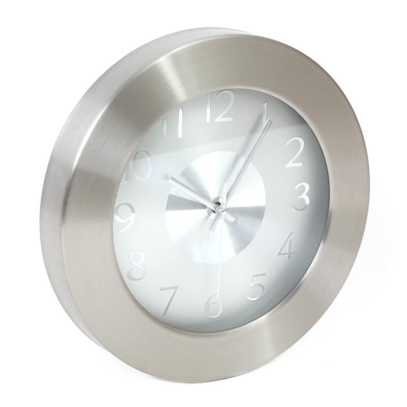 Platinet Noon Clock — стенен часовник (сив) - 1