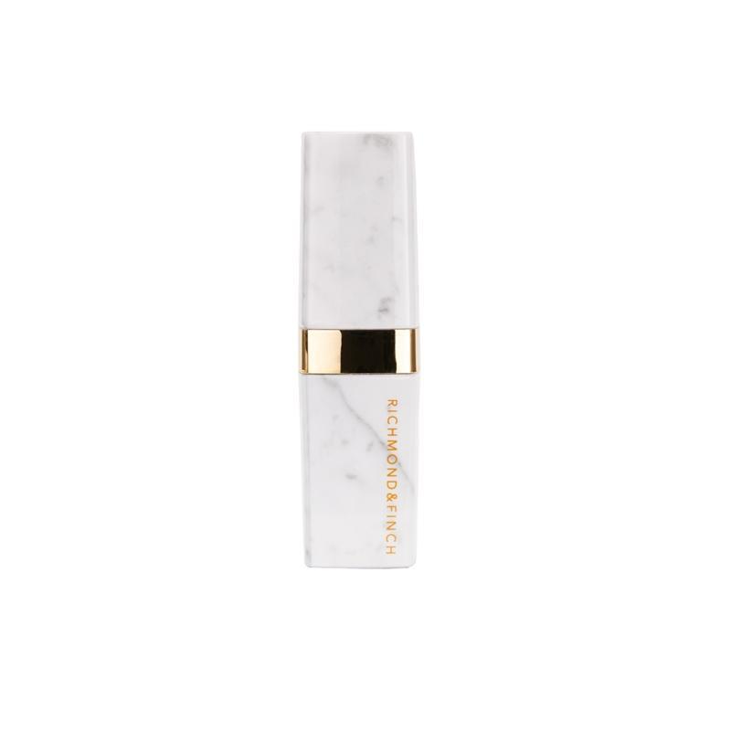 Richmond and Finch Lipstick Pink Marble 2600 mAh — външна батерия с USB изход за мобилни устройства (бял) - 4