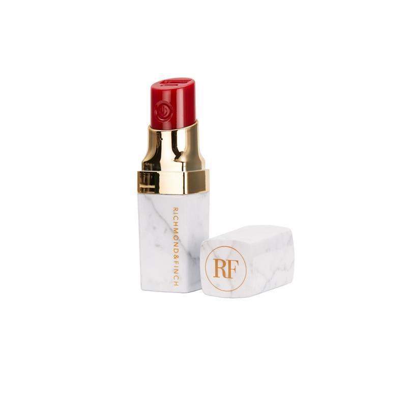 Richmond and Finch Lipstick Pink Marble 2600 mAh — външна батерия с USB изход за мобилни устройства (бял) - 2