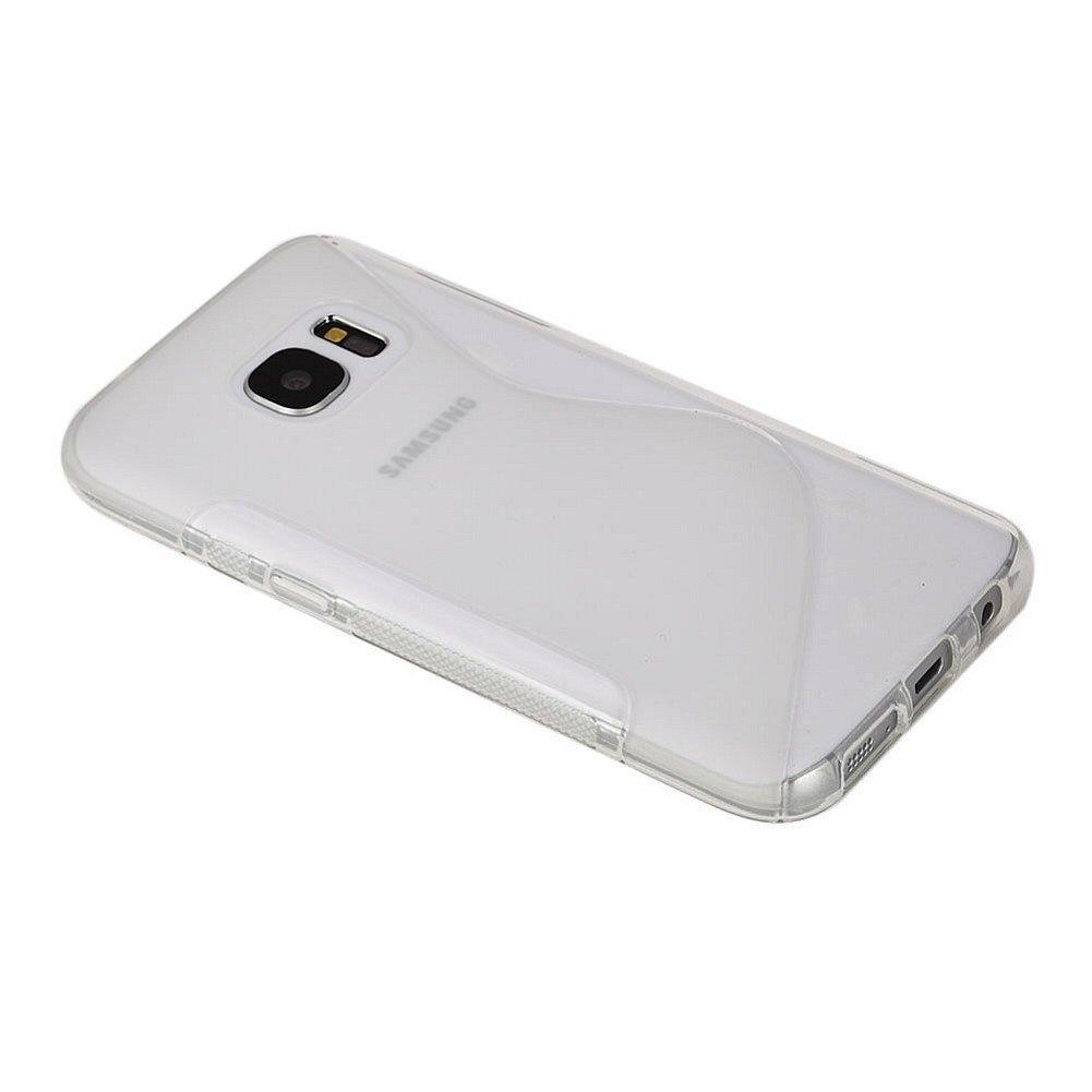 S-Line Cover Case — силиконов (TPU) калъф за Samsung Galaxy S7 (прозрачен) - 2