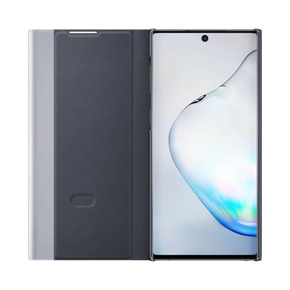 Samsung Clear View Cover EF-ZN970CB — оригинален кейс, през който виждате информация от дисплея за Samsung Galaxy Note 10 (черен) - 2