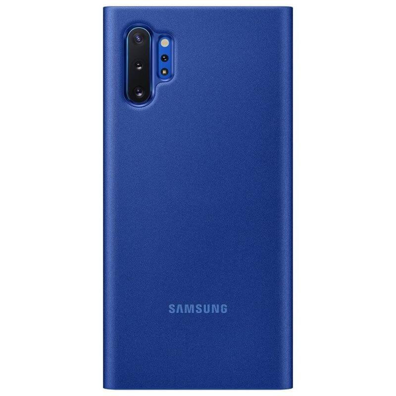 Samsung Clear View Cover EF-ZN975CL — оригинален кейс, през който виждате информация от дисплея за Samsung Galaxy Note 10 Plus (син) - 2
