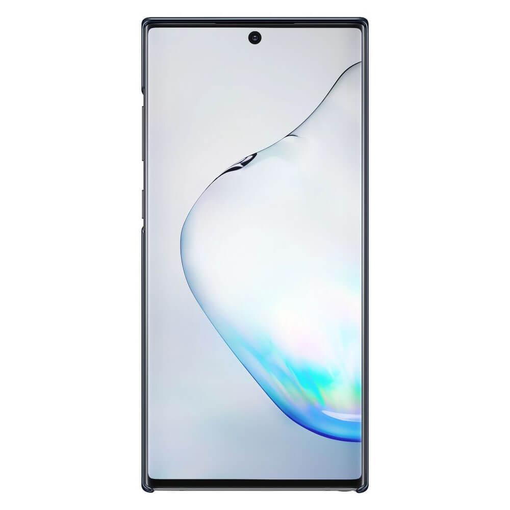 Samsung LED Cover EF-KN975CB — оригинален заден кейс, през който виждате информация от Samsung Note 10 Plus (черен) - 4
