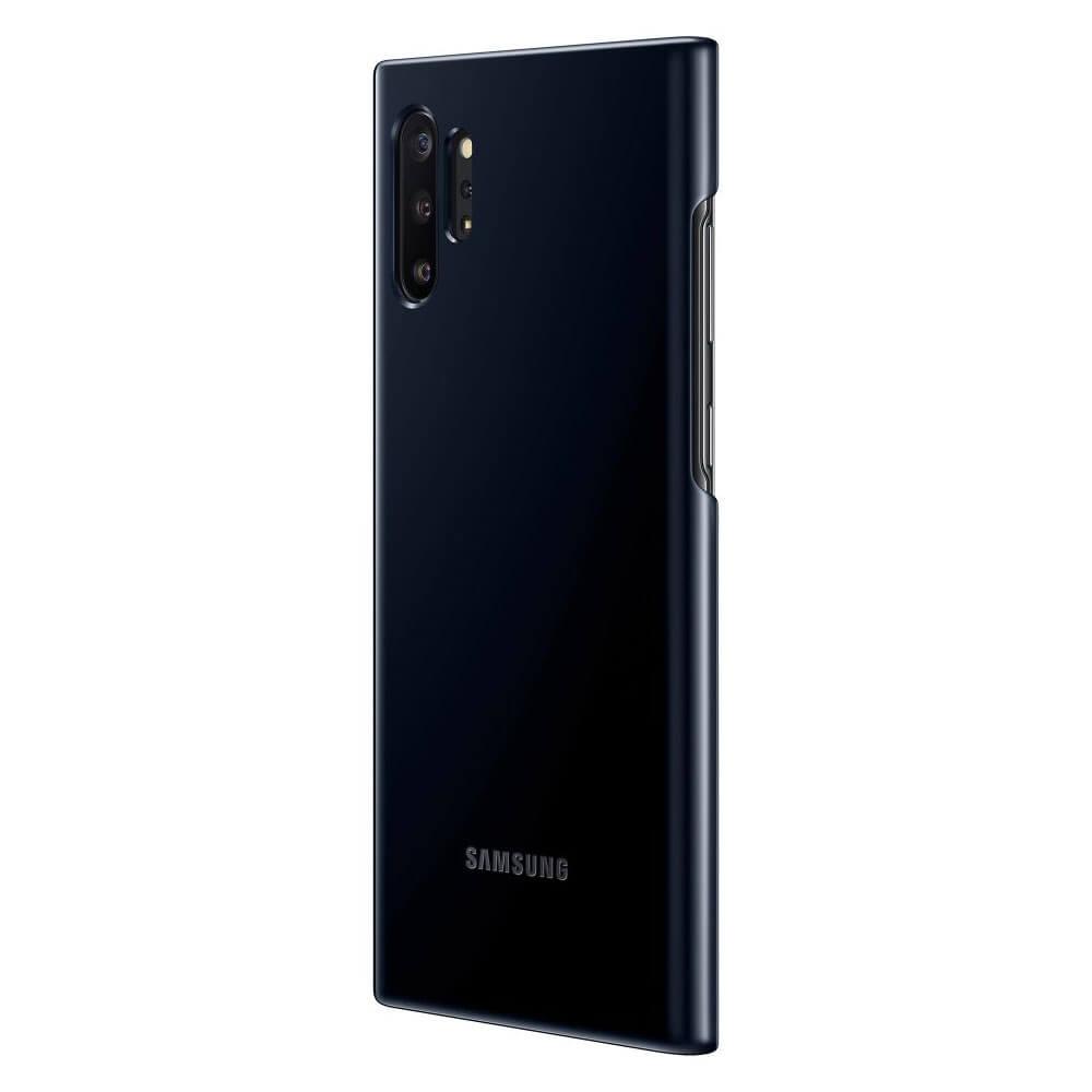 Samsung LED Cover EF-KN975CB — оригинален заден кейс, през който виждате информация от Samsung Note 10 Plus (черен) - 2