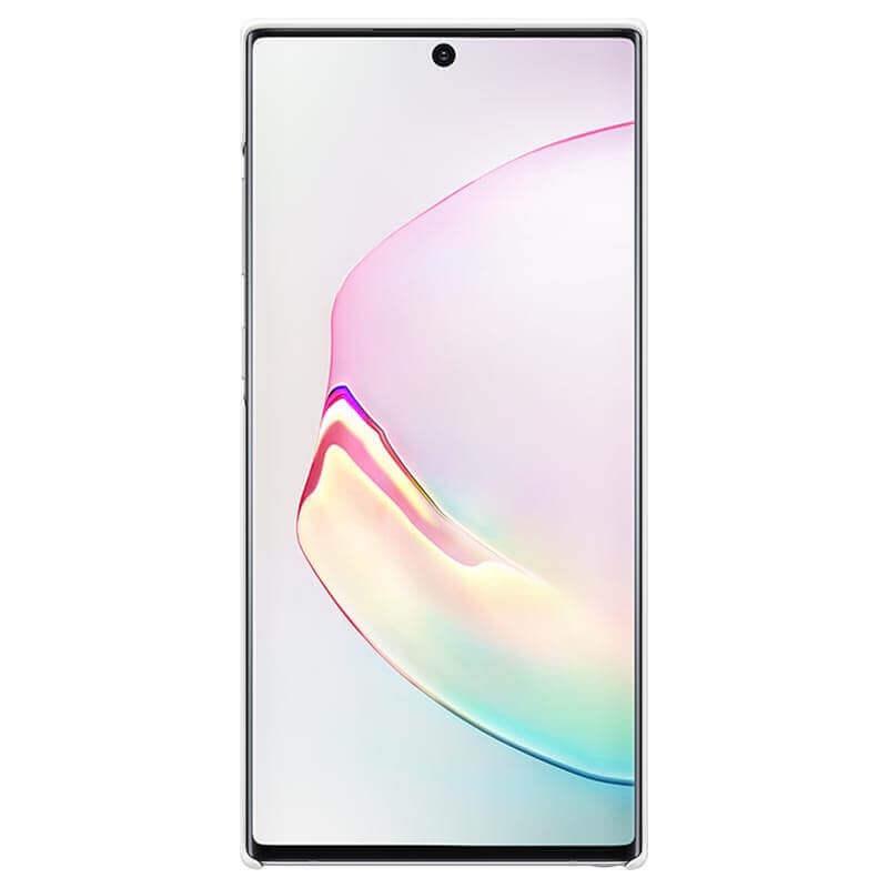 Samsung LED Cover EF-KN975CW — оригинален заден кейс, през който виждате информация от Samsung Note 10 Plus (бял) - 4