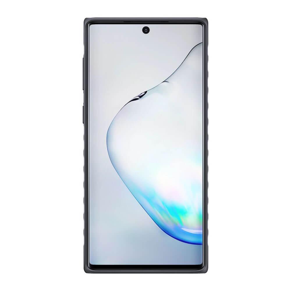 Samsung Protective Standing Cover EF-RN970CB — оригинален хибриден кейс за Samsung Note 10 (черен) - 2