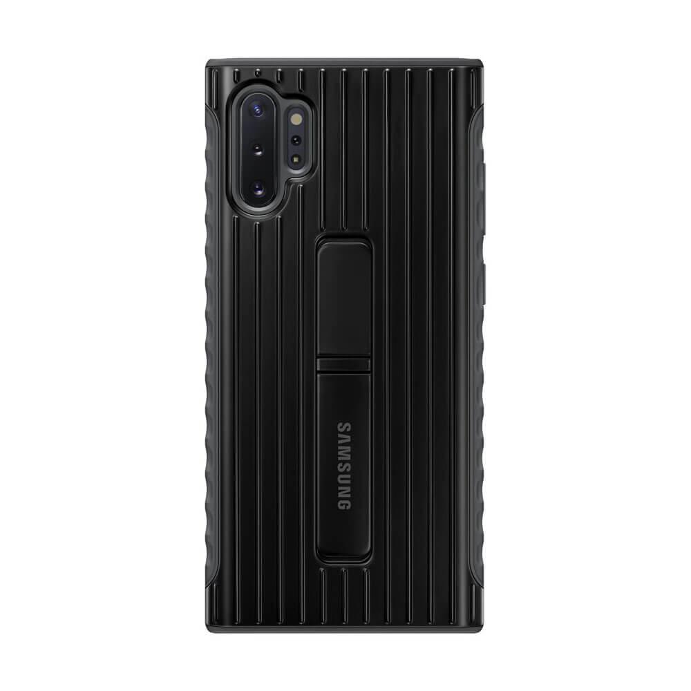 Samsung Protective Standing Cover EF-RN975CB — оригинален хибриден кейс за Samsung Note 10 Plus (черен) - 1