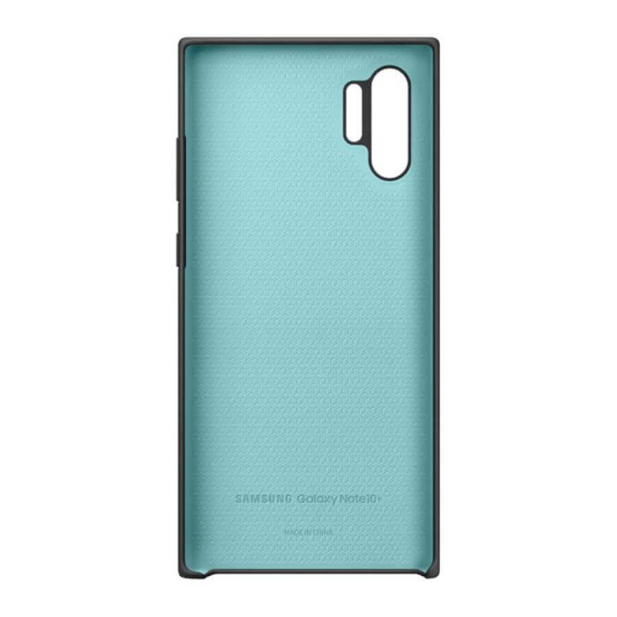 Samsung Silicone Cover Case EF-PN975TB — оригинален силиконов кейс за Samsung Galaxy Note 10 Plus (черен) - 3