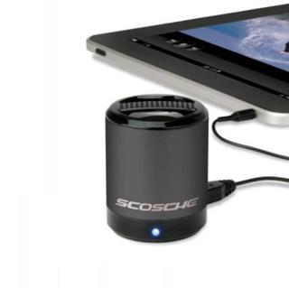 Scosche BoomCAN — портативен мощен спийкър за мобилни устройства (черен) - 2