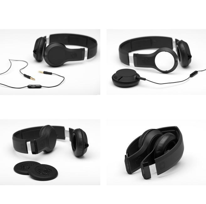 SkullCandy Cassette — слушалки с микрофон и спийкър за iPhone и мобилни устройства (черни) - 3