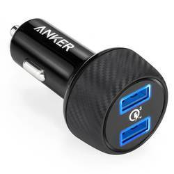 Anker PowerDrive Speed 2 Ports Quick Charge 3.0 39W Dual USB Car Charger с PowerIQ и VoltageBoost