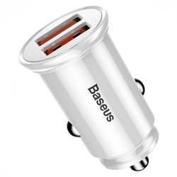 Baseus Dual USB QC 3.0 Car Charger 30W CCALL-YD02